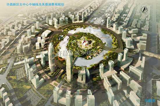 许昌市忠武路规划图 大许昌从城市规划读懂许昌大未来